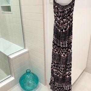 Beautiful batik ASOS maternity maxi dress (s/m)